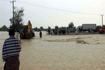 ساکنان حاشیه رودخانه گنبد ملکشاهی به مکان امن منتقل شدند