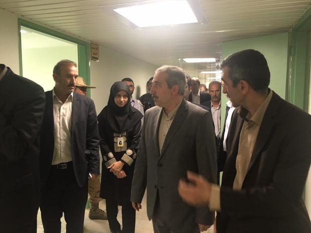 افتتاح پروژههای سلامت هادیشهر در شهرستان جلفا
