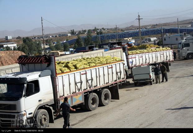 صادرات اظهار شده از گمرکات کرمانشاه 86 درصد افزایش یافت