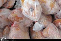 روزانه 60 تن مرغ منجمد در بازارروزهای کرج توزیع می شود