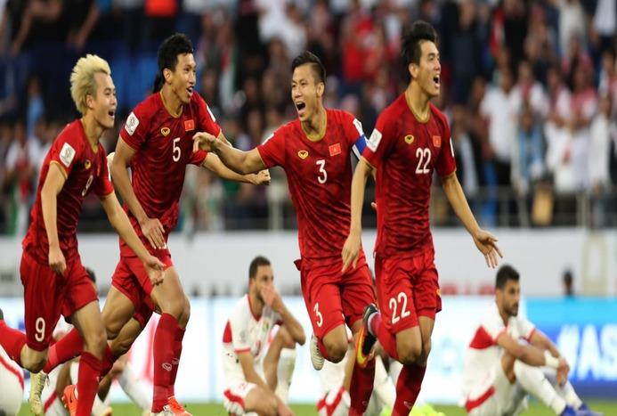 گل های بازی سی و هفتم جام ملت های آسیا / ویتنام 1 (4) - اردن 1 (2)