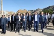 شهردار مشهد از مناطق سیل زده کلات بازدید کرد