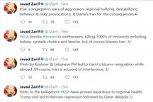 ظریف: سفر حریری به عربستان باعث استعفای او شد