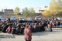 مانور زلزله با مشارکت 30هزار دانش آموز در پیرانشهر برگزار شد