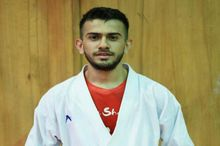 کاراته کای کرمانشاهی برای کسب مدال دانشجویان جهان می جنگد