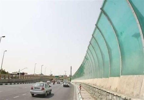 دیوارههای صوتی بزرگراههای پایتخت توسط خود پیمانکاران به سرقت رفت