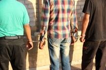 دستگیری سارقان حرفه ای با 20 فقره سرقت در ماهشهر