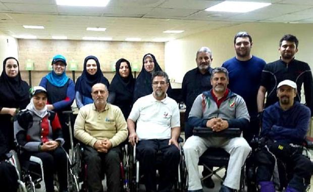 تیراندازان شیرازی راهی رقابت های معلولان جهان شدند