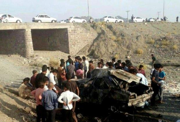 تصادف در کهنوج یک کشته برجای گذاشت
