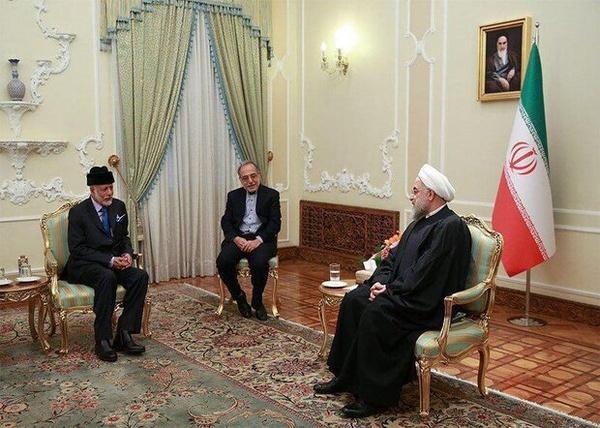 دیدار وزیر خارجه عمان با رئیسجمهور