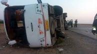 افزایش تعداد قربانیان واژگونی اتوبوس زائران کربلا به 3 نفر