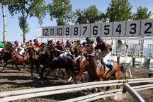 هفته دوم مسابقات اسبدوانی کورس پاییزه گنبدکاووس فردا برگزار می شود