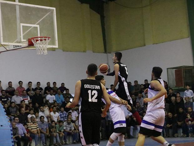 گلستان قهرمان بسکتبال جوانان کشور شد