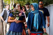 برگزاری مراسم گرامیداشت قربانیان حمله تروریستی در نیوزیلند با حضور ده ها هزار نفر