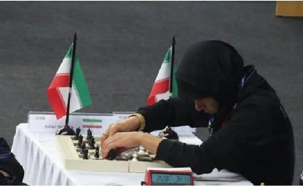 شطرنجبازشیرازی هفتمین مدال پاراآسیایی برای فارس کسب کرد