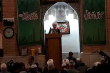 امام جمعه سنندج مردم را به شرکت گسترده در راهپیمایی 22 بهمن دعوت کرد