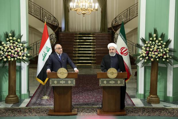 روحانی: برای توسعه روابط با عراق در شرایط بسیار ممتازی قرار داریم /توسعه همکاری های تهران – بغداد به نفع دو کشور و منطقه است/امیدوارم بعد از پایان ماه مبارک رمضان شاهد آغاز عملیات لایروبی اروندرود باشیم/ ساخت یک شهرک صنعتی در منطقه جنوب و یک شهرک در منطقه