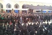 آغاز عزاداری 13 محرم در یزد مسجد ملا اسماعیل، میزبان عزاداران