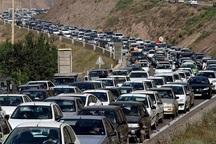 ترافیک مسیر هراز سنگین است