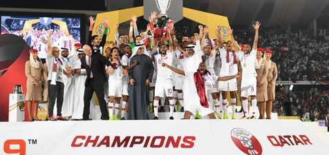 قطر قهرمان آسیا شد+ عکس و فیلم