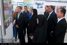 نمایشگاه عکس ایران و سازمان ملل در خرم آباد دایر شد