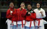 مهسا افسانه ورزشکار ارزنده شهر ری مدال برنز را کسب کرد