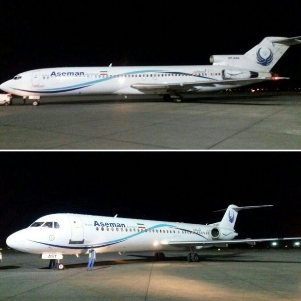 فرود 2 پرواز در اصفهان به دلیل حادثه در فرودگاه مهرآباد تهران