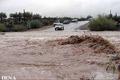 یک مسیر فرعی بر اثر سیلاب در سیستان بسته شد