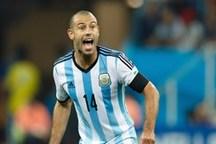 ماسکرانو: کارم تمام شد و حالا یک هوادار آرژانتین هستم
