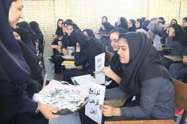 طرح آهن یاری و ویتامین دی در بوشهر آغاز شد