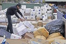 کشف قاچاق کالا در گناباد افزایش یافت