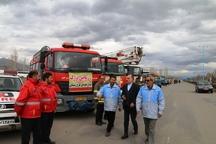 1000 نفر در طرح زمستانی امداد و نجات خوی مشارکت دارند