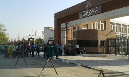 درخواست دوباره کارگران شهرداری اهواز برای تبدیل وضعیت
