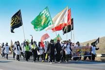 عزیمت بیش از هزار زائر پیاده از جنوب خراسان رضوی به مشهد