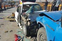 سانحه رانندگی در نهاوند یک کشته و چهار مجروح برجا گذاشت