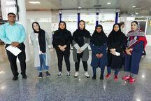 تیم بسکتبال دختران هرمزگان عازم رقابت های کشوری شد