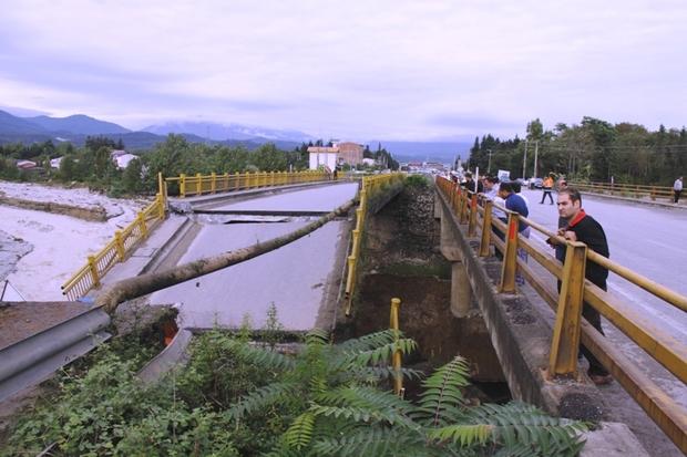 سیل حدود 15 میلیارد تومان به راههای مازندران خسارت زد
