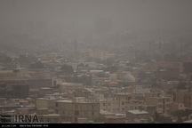 هوای کرمانشاه و کنگاور در وضعیت هشدار است