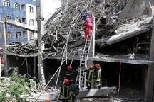 ریزش ساختمان مسکونی در مشهد 6 کشته داشت