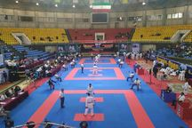 سیزدهمین دوره مسابقات کاراته جام وحدت و دوستی در ارومیه آغاز شد
