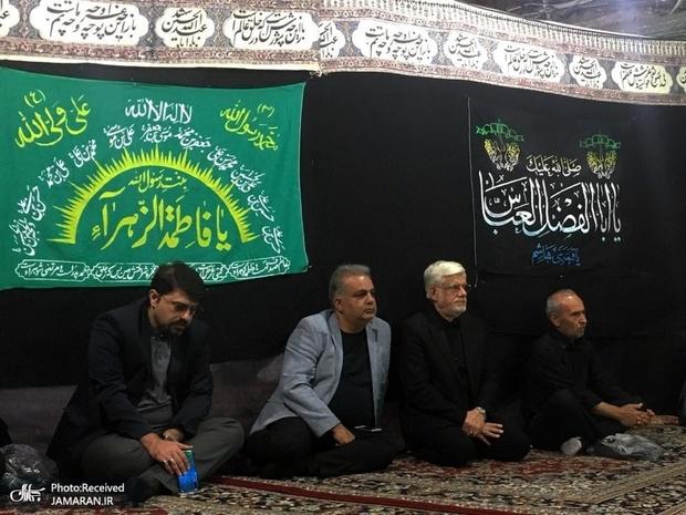 حضور عارف در سوگواری حضرت سیدالشهدا، بازار، حسینیه یزدیهای مقیم تهران
