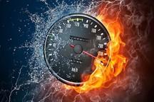 118 هزار تخلف سرعت در جاده های همدان ثبت شد