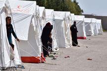۴۵۵ خانوار زلزله زده در آذربایجانشرقی اسکان اضطراری یافتند