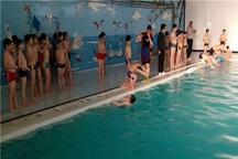 جشنواره شنای نونهالان در قزوین برگزار شد