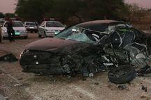 تصادف در جاده خورموج به کنگان سه کشته و یک مصدوم داشت