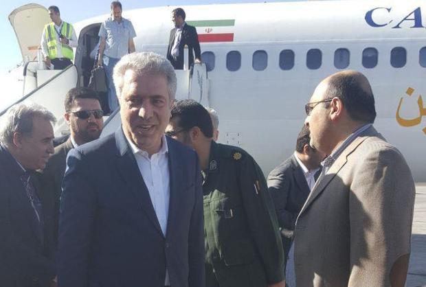 معاون رئیس جمهوری و رییس سازمان میراث فرهنگی وارد یزد شد