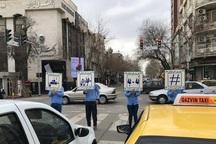 پویش 'نه به خودروی شخصی' در قزوین راه اندازی شد