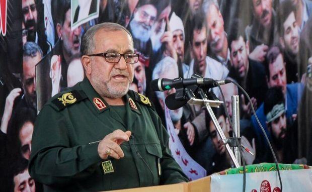 ایستادگی و مقاومت تنها عامل پیشرفت ایران اسلامی است