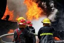 آتش سوزی واحد مسکونی با مصدومیت یک نفر در کرج همراه شد
