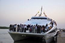 2 فروند کشتی به گردشگری آبی نوروز در خرمشهر اختصاص یافت